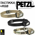 Petzl Tactikka +RGB 160 Lumens LED Head Torch [E89] Military Style Tactical Hike