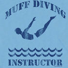 MUFF DIVER T-SHIRT sky dirty scuba gear inappropriate 69 sex diving