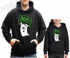 HALLOWEEN,GHOST BOO HOODIE, HUMOUR,MENS, LADIES CHILDRENS, *all sizes available*