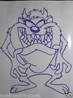 TAZ Vinyl Decal Sticker  *Available in 23 Colors* tasmanian devil