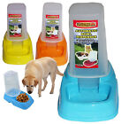 PET DOG CAT PUPPY KITTEN ANIMAL AUTOMATIC FOOD DRINK WATER DISPENSER FEEDER BOWL