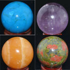 """40mm Wholesale Lot Mix Natural Gemstone Sphere Crystal BALL 1.6"""""""