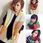 Hot Blending Color Winter Warm Infinity 2 Circle Knit Cowl Neck Long Scarf Shawl