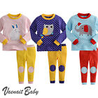 "NWT Vaenait Baby Infant Toddler Kid Clothes Sleepwear Pajama Set ""Polka Dot"""