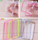 Apple iPhone 6 (5.5) Lot of  4  TPU Rubber Gel Ultra Thin Case Cover Transparent