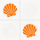 14x SEASHELL TILE DECALS / Tile Transfers / Stickers - 2 Sizes available (T35)