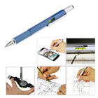 Multifunction Touch Screen Stylus Pen Spirit Level Ruler Screwdriver For iPhone