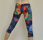 Hot Yoga Bikram Yoga CrossFit Capri Pant Workout Legging Tight Lycra Tie Dye