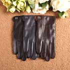 ELMA Men's Touchscreen/texting Winter Nappa Leather Gloves cashmere Lining