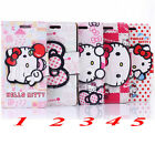 Cute HelloKitty Cartoon Leather Wallet Case Cover For Samsung Galaxy S4 & S5