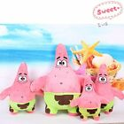 New 10~28 Cute SpongeBob SquarePants Patrick Star Plush Toys Dolls Kids Gifts