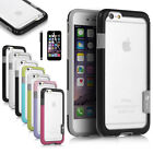 For Apple iPhone 6s Hybrid Shockproof TPU Rubber Soft Bumper Case Cover New
