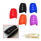 Silicone Remote Key 3 Buttons Case Cover Car Fob Shell For Hyundai IX45 Santa Fe