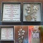 A Meaningful Keepsake key ring Charm for a Milestone Birthday gift boxed rhymes