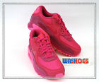 Nike Wmns Air Max 90 PRM Fireberry Pink Pow 443817-600 UK 3.5~6 Girls Casual 1