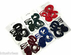 Pack of School Colour Hair Bands Bendie Snap Hair Clips Mini Ponios Elastics