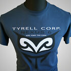 BLADE RUNNER TYRELL CORPORATION NEXUS 6 BLUE T SHIRT SCI FI ROY BATTY DECKARD