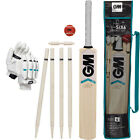 GUNN & MOORE Six6 Cricket Bat Ball Wicket Set