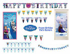 DISNEY FROZEN BIRTHDAY PARTY BANNER DECORATIONS