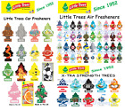 1 x Little Trees Car Air Freshener / BUY 5 or more, GET 1 FREE  /  FREE SHIPPING