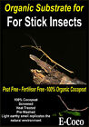 STICK INSECT SUBSTRATE, BEDDING - FOR INSECTS CAGE, VIVARIUM, TANK OR HABITAT