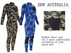 New ADRENALIN Spearfishing, Fishing, Diving Camo Steamer Wetsuit Spear Fishing
