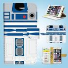 iPhone SE 6 6S 7 8 X Plus 5 5S 5C 4 4S Wallet Case Cover Star Wars R2D2 W087 $12.99 AUD on eBay