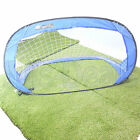 SOCCER GOAL PORTABLE OUTDOOR SPORTS INFLATABLE POP UP SMALL SOLID METAL FRAME