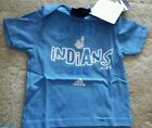 """Adidas Cleveland Indians """"My First Tee"""" T- Shirt- Blue- New with tags! on Ebay"""