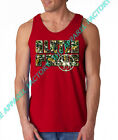 New Camo Gluten Free Red Tank Top shirt hunting camping mossy oak diet workout