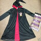 New Harry Potter Gryffindor boys cape fancy dress outfit dressing up costume