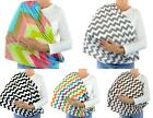 Handmade Women Infinity Scarf Chevron Nursing Breastfeeding Privacy Baby Cover