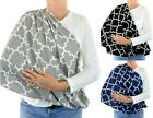 Handmade Infinity Scarf Quatrefoil Nursing Breastfeeding Privacy Baby Cover