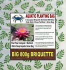 WATER LILY PLANTING BAG - NUTRIENT RICH COIR BLOCK - COCOPEAT BRICK
