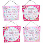 """Mother's Day Tin Plaque """"I love you to the Moon & Back"""" Mum Mummy Nan OR Grandma"""