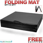 Tri Folding Exercise 6ft Thick Mat Gym Fitness Floor 3 Yoga Physio Pilates