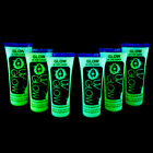 UV Glow Invisible Glow in the Dark Face & Body Paint - 6x 10ml (60ml)