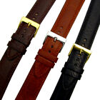 Verona XL Extra Long Padded Leather Watch Strap Band 3 colours Sizes 16mm - 24mm
