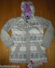 ROJO girl ski snow winter jacket coat 11-12 y  grey BNWT