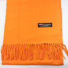 Men Women unisex 100% CASHMERE Warm PLAIN Scarf pure solid colored Wool SCOTLAND <br/> **USA SELLER**FAST Shipping** 20 COLORS SELECTABLE**