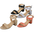 LADIES SUMMER SYNTHETIC BUCKLE FASTENING SANDAL ANNE MICHELLE F10408