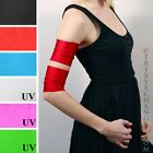 1027 Short Chic Red Roller Derby Arm Bands Cyber Costume Cuffs Cosplay Athletic
