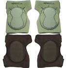 Kombat Fully Adjustable Hard Wearing Neoprene Knee Pads Paintballing Protection