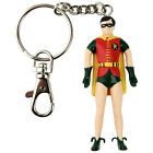 DC Comics Bendable KeyChain Superman Batman Robin Batmobile Joker Wonder Woman