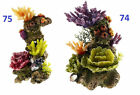 Aquarium Coral Ornament Coral Rock Tower Fish Tank Decoration Choice of 2