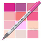 Clean Colour Brush Pen, real brush tip, pinks+skin tones, choice of colours, Zig