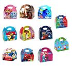 BIRTHDAY PARTY CHARACTER GIFT LOOT BOXES DISNEY AVENGERS TURTLES PEPPA PIG etc