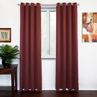 NEW Thermal Insulated Blackout Curtains Grommet Top Window Panels Drapes <br/> | SALE up to 65% | FREE Shipping | CANADIAN Stock |