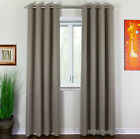 NEW Thermal Insulated BLACKOUT Curtains Set Grommet Panels Lenght 63 84 96 <br/> | SALE up to 65% | FREE Shipping | CANADIAN Stock |