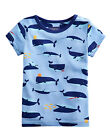 *BNWT* Baby Joules Boys Scenewell Print T-Shirt - Whale Of A Time - NEW FOR SS15